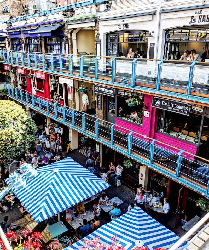 Restaurants in Kingly Court