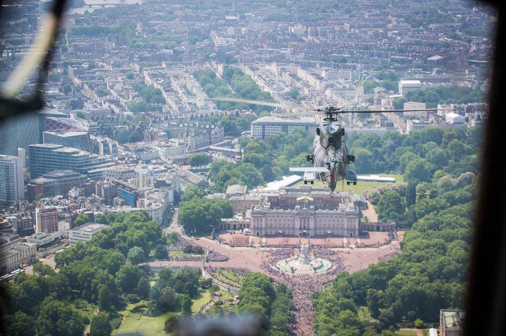 Royal Air Force Flypast 100