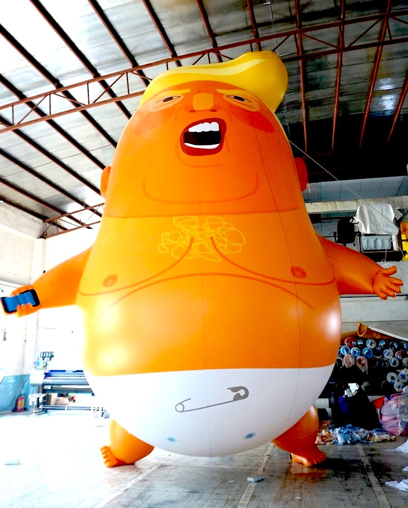 Trump Baby Protest Balloon