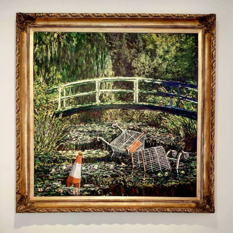 Banksy Exhibition in London