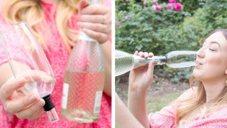 Bottomless Champagne Flute
