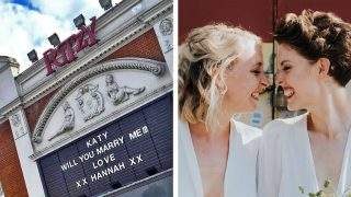 Brixton Wedding Romantic