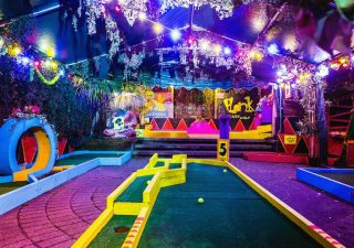 Crazy Golf Peckham