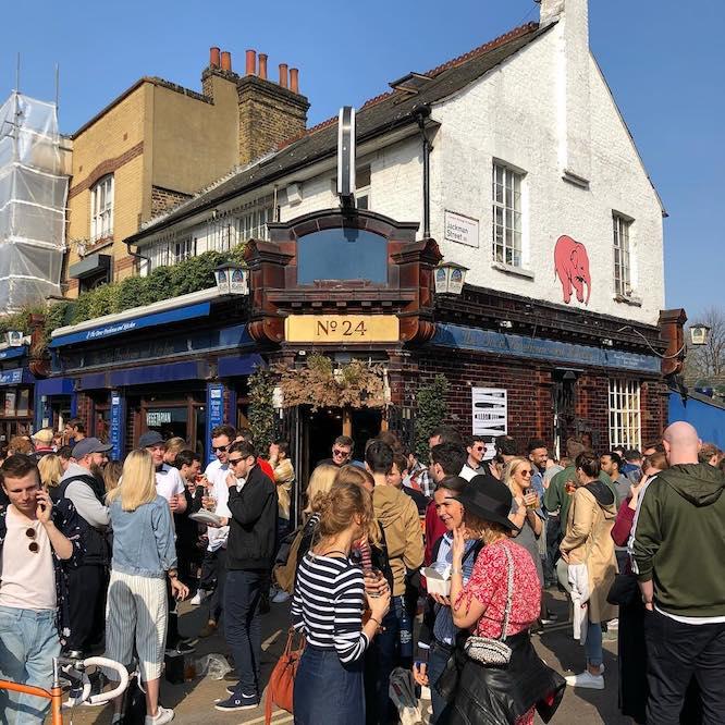 Hackney Pub The Dove