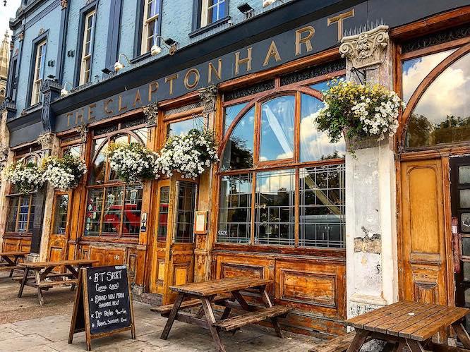 Hackney Pubs Clapton Hart