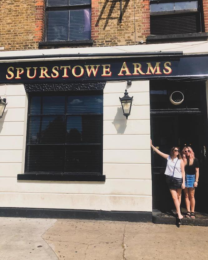 Hackney Pubs Spurstowe Arms