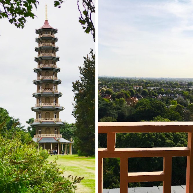 Kew Gardens Great Pagoda