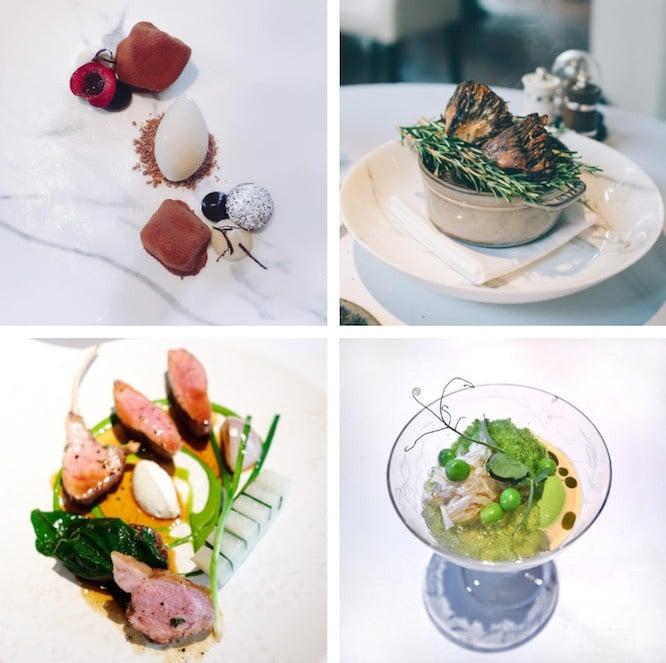 Ledbury Restaurant London Menu