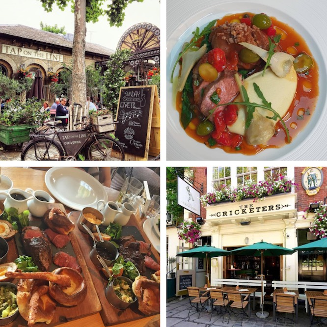 Restaurants near Kew Gardens