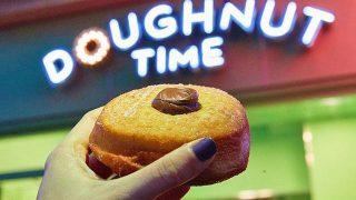 Vegan doughnut
