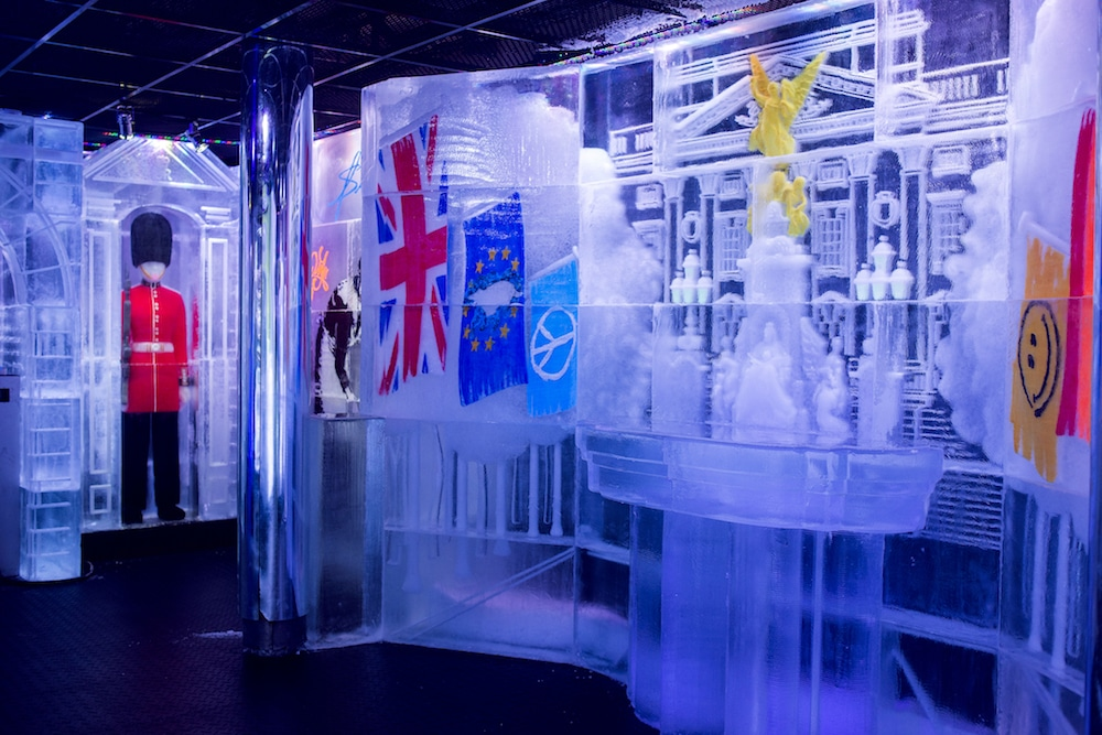 Belowzero Ice Bar London. New design 2018 'London Land