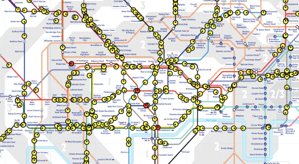 Show Map Of London.This Live Tube Map Will Show You Exactly Where All Of The Trains Are