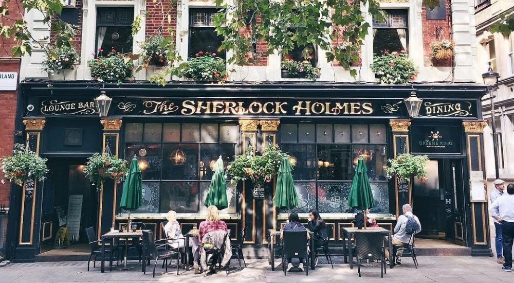 The Sherlock Holmes Pub: The London Boozer With A Replica Of