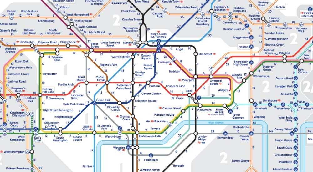 8 London Tube Journeys That Are Actually Quicker By Foot