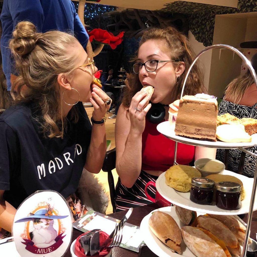 Afternoon Tea Cat Cafe London