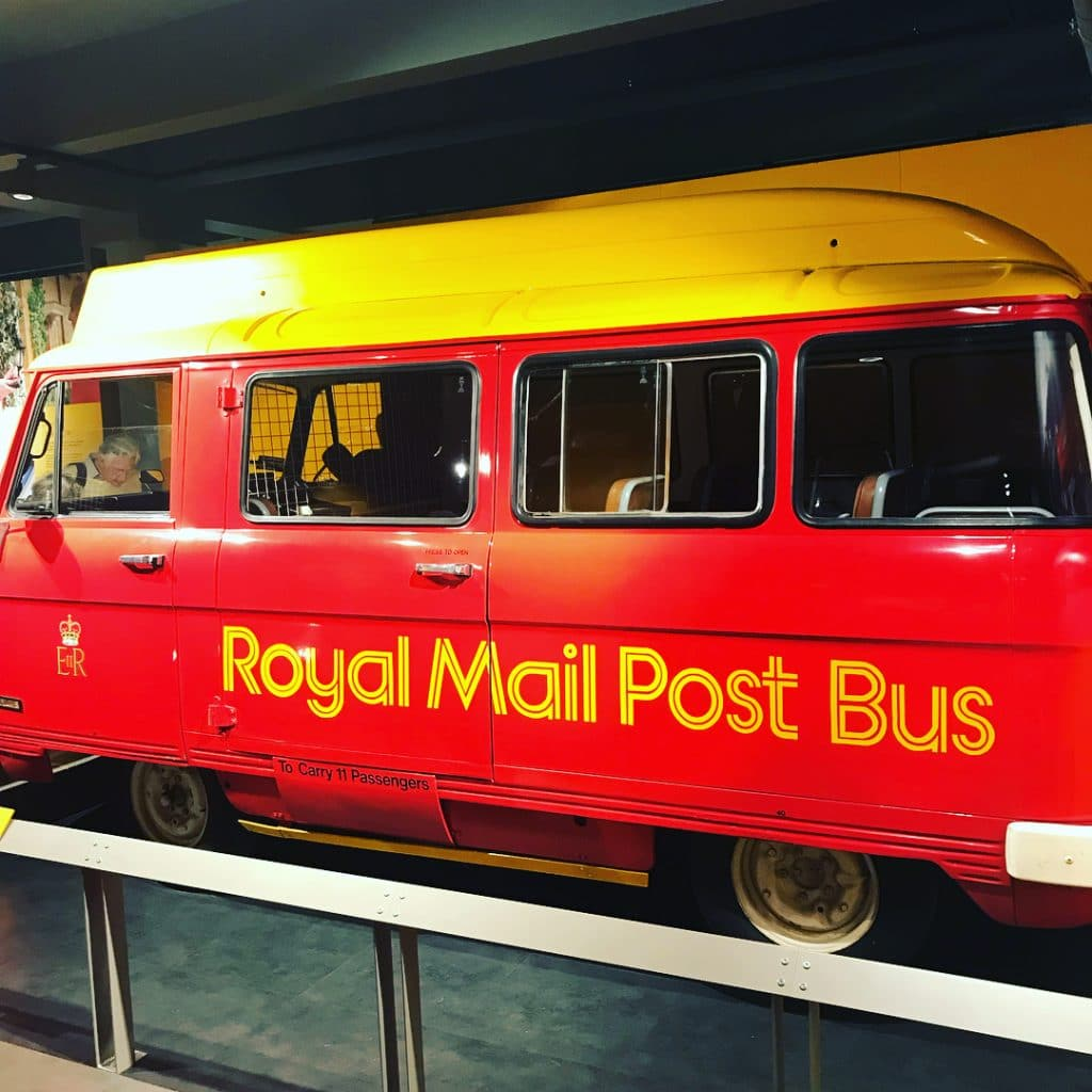 Royal Mail Post Bus