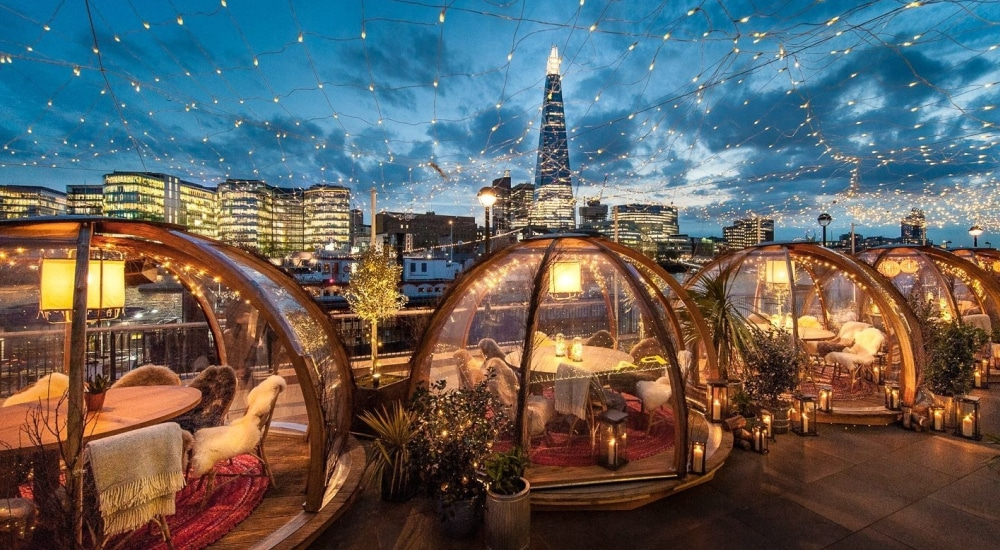 London's Riverside Igloos At Coppa Club Are Back For 2018: How To Visit