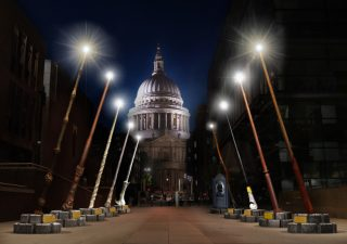 6 high rise restaurants with breathtaking views of londons nye giant harry potter wands will shine on st pauls cathedral next month art exhibitions london malvernweather Gallery