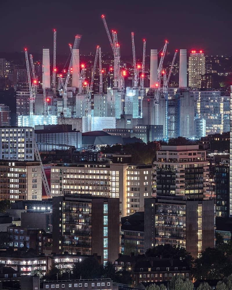 Battersea Redevelopment Work