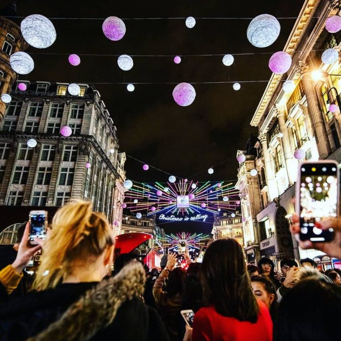 18 Places To See Christmas Lights In London In 2018: All Switch-On