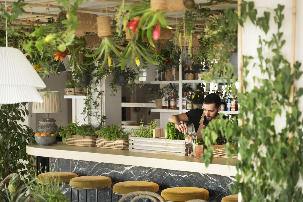 Garden Room: London's New Plant-Filled Rooftop Bar & Restaurant