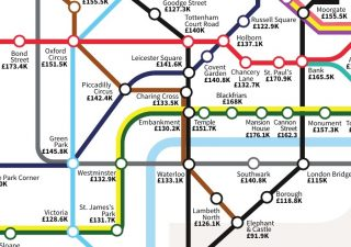 House Price Tube Map