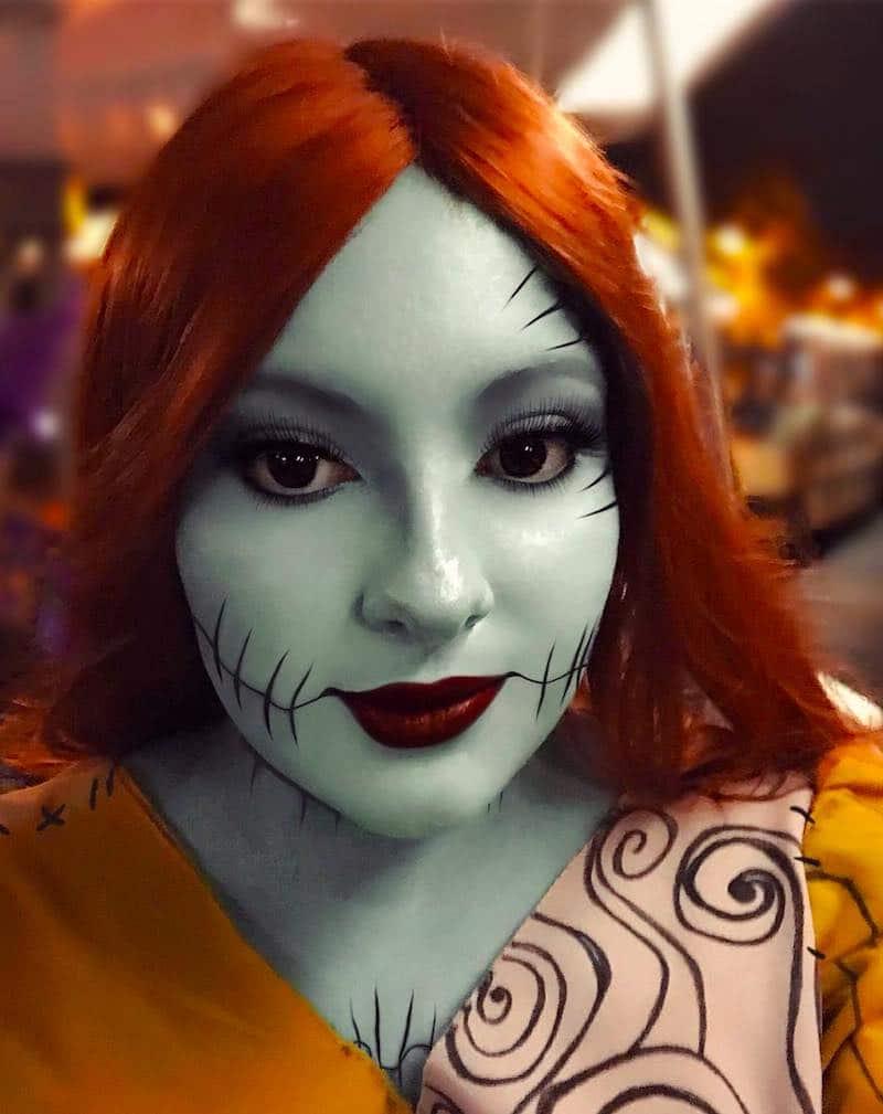 Sally Ragdoll Makeup