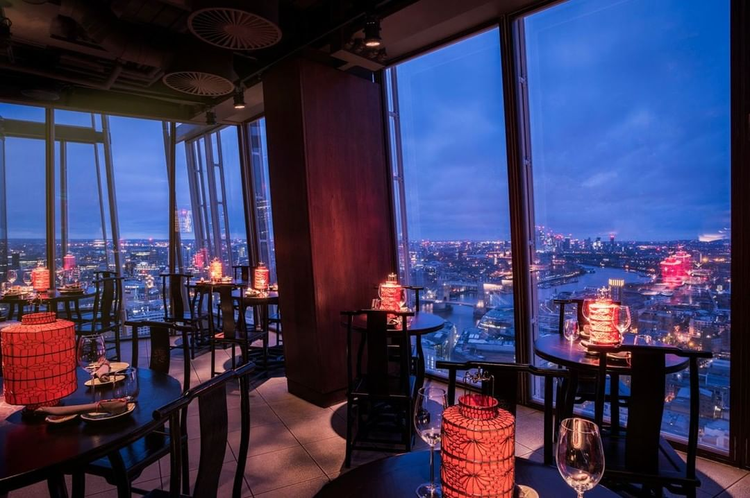 Shard restaurants