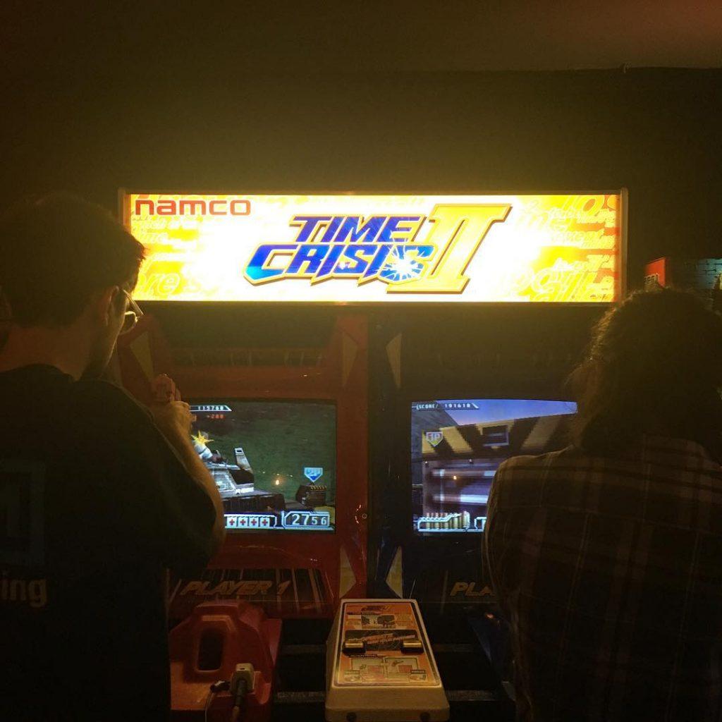 Arcade games bar in London