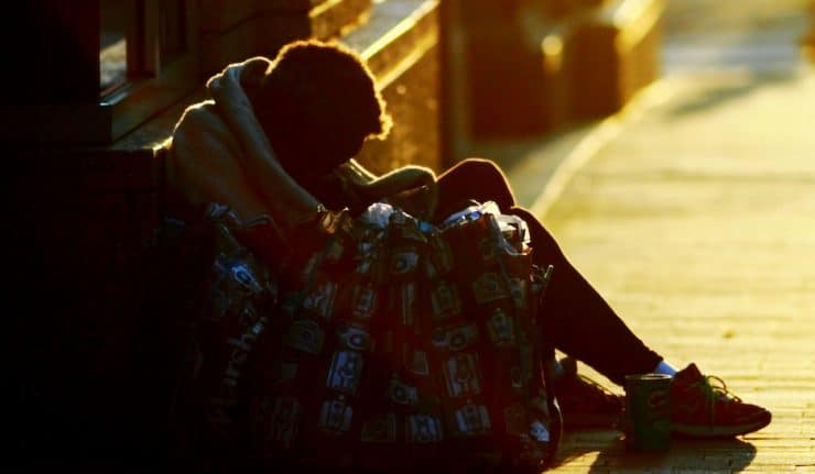 Donate coats homeless london