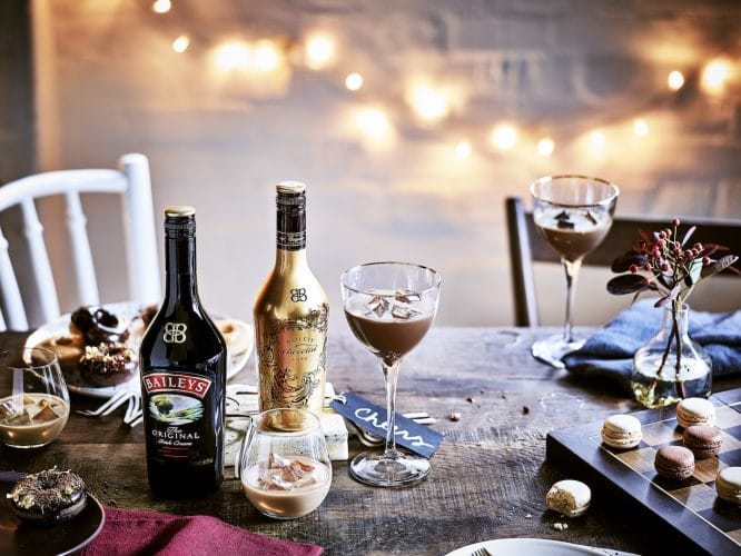Early Christmas Dinner - Baileys Chocolat Lux and Original
