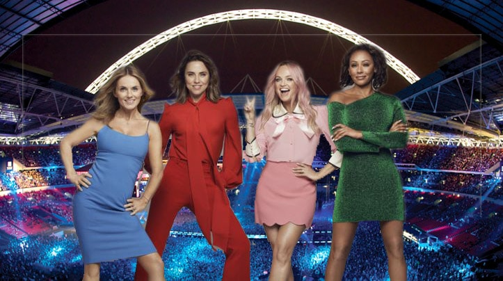 spice girls reunion tour london