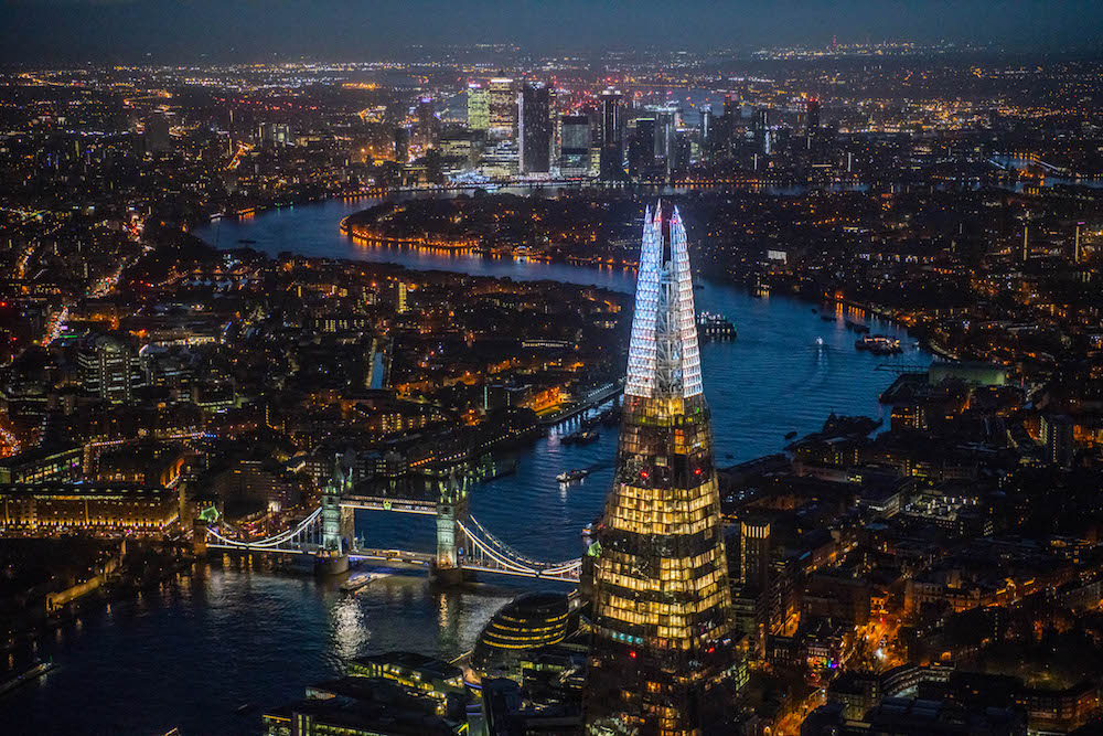The Shard Celebrates the 'London Sky', as western Europe's highest festive lights display returns, The Shard's annual festive lights display – Shard Lights will illuminate the top 20 stories.