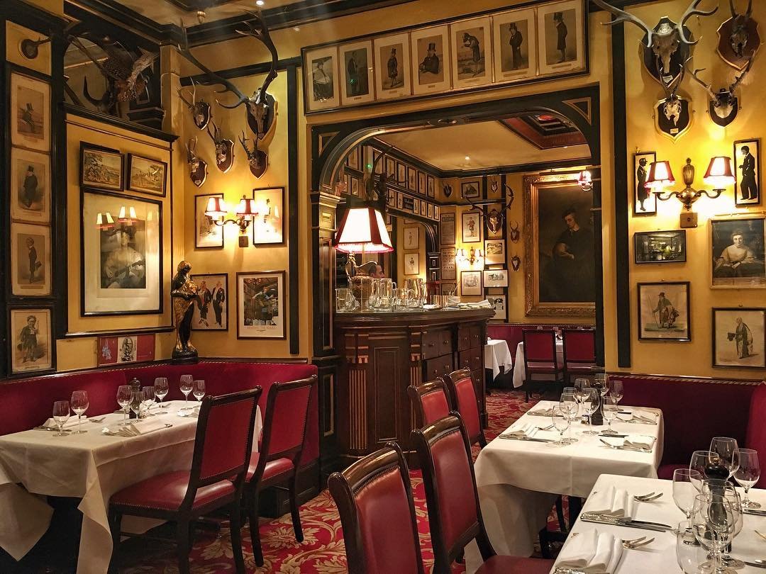 Rules, London's oldest restaurant, has been nominated for the 'Enduring Classic' award. (Photo by @travelinggentleman)