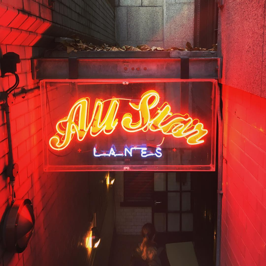 All Star Lanes (Photo: @stephen_lowe)