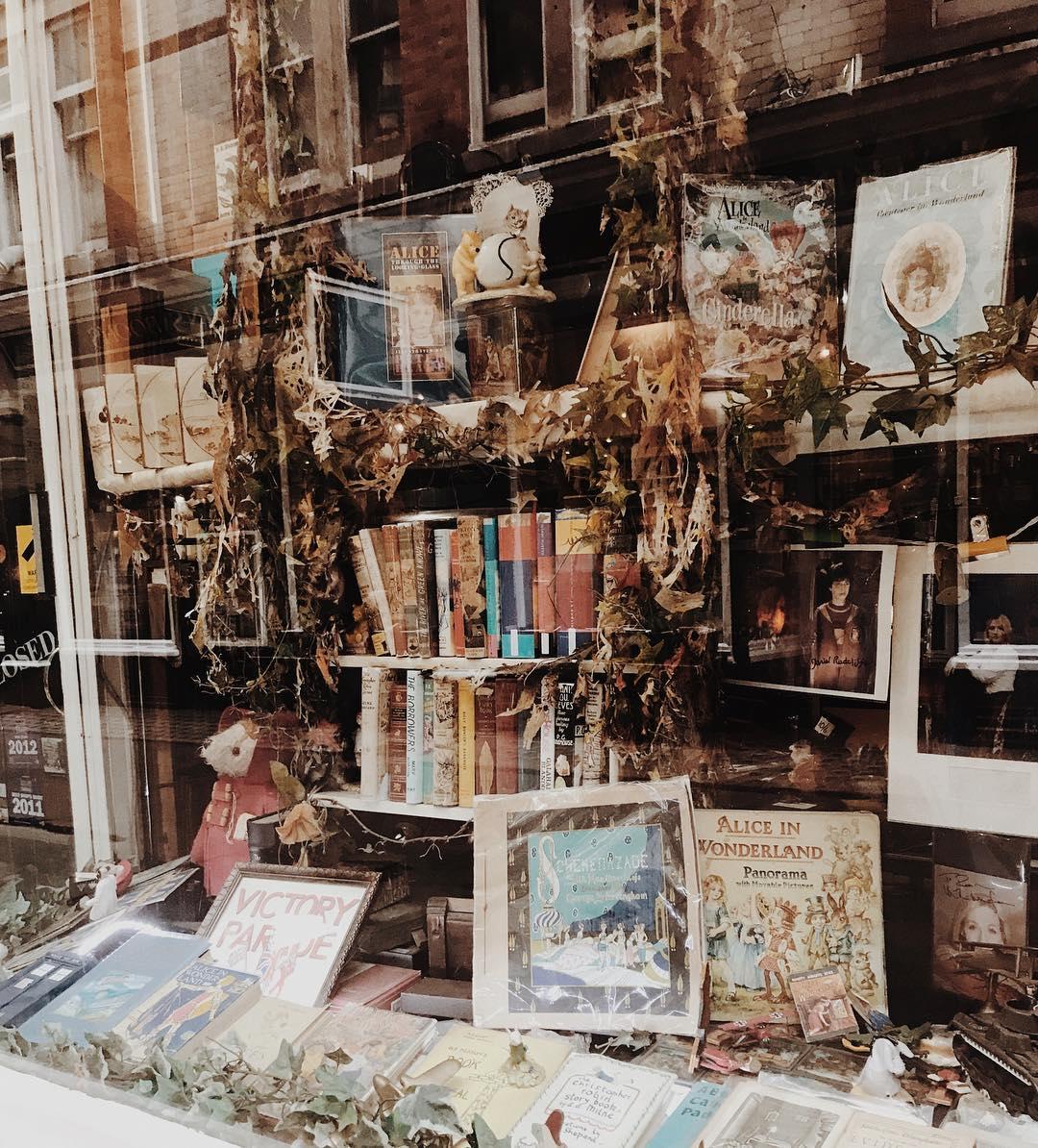 Cecil Court Bookshop Window
