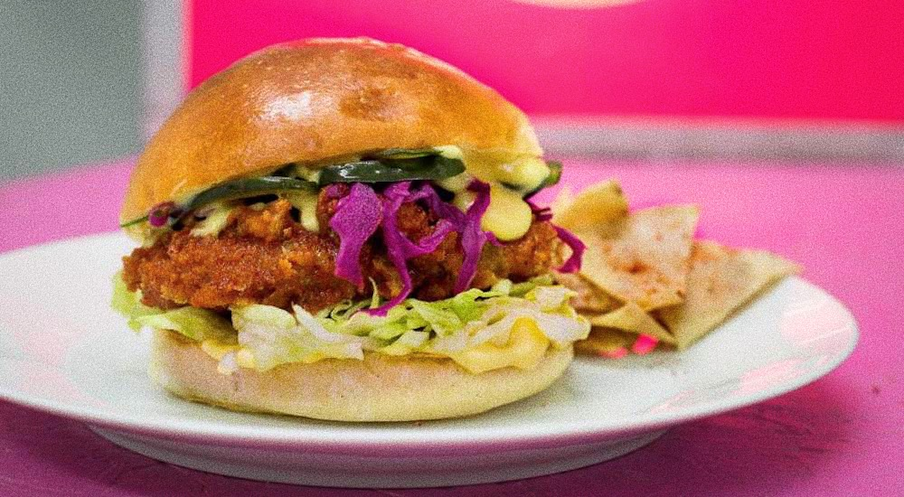 Club Mexicana Vegan Burger