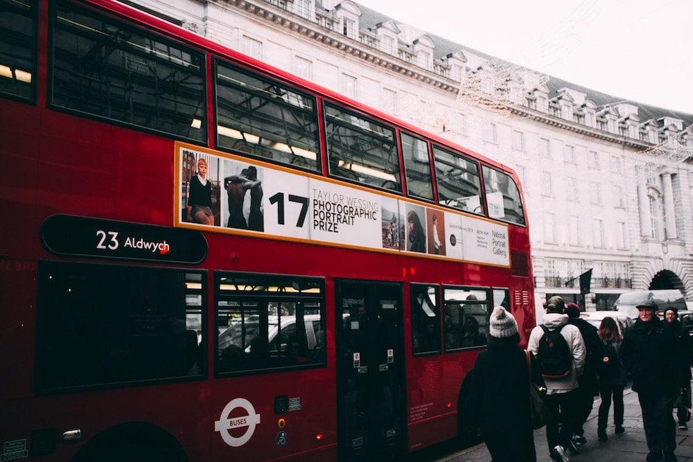 london bus versus tube poor air quality