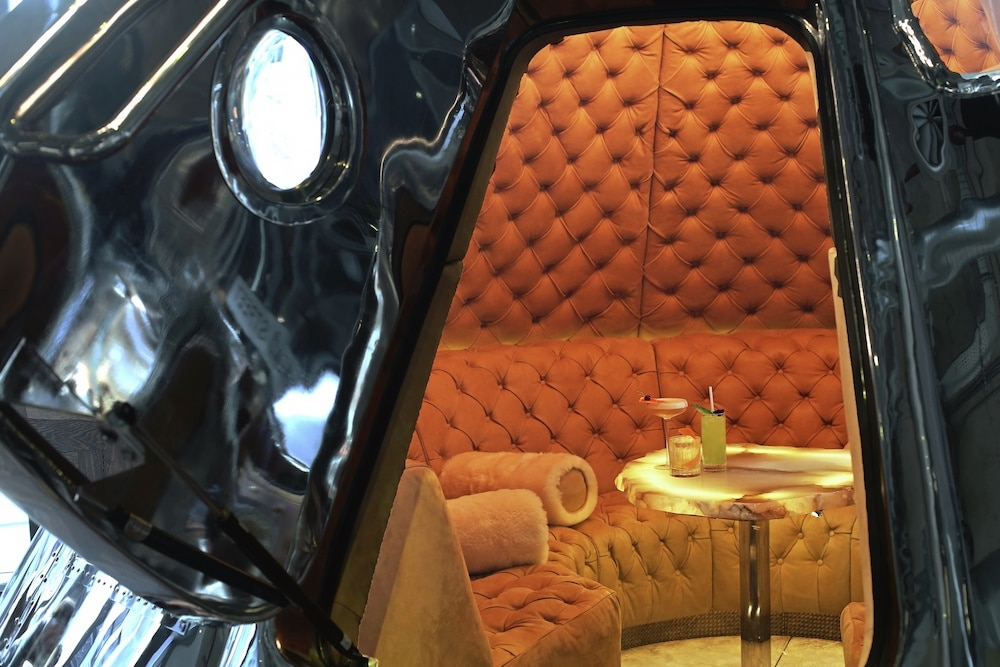 Space Capsule Dining Room