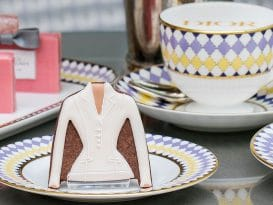 Dior-themed afternoon tea