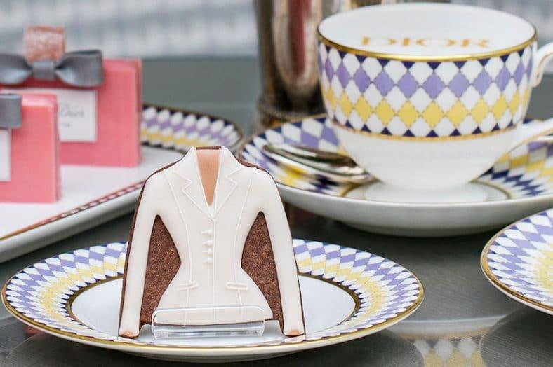 Dior-themed afternoon tea