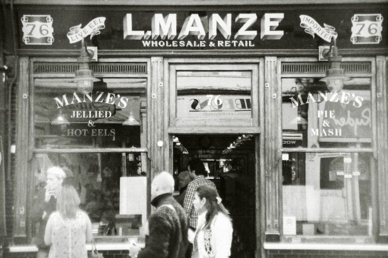 Manze's Pie and Mash Cocktail Bar – Jellied Ell