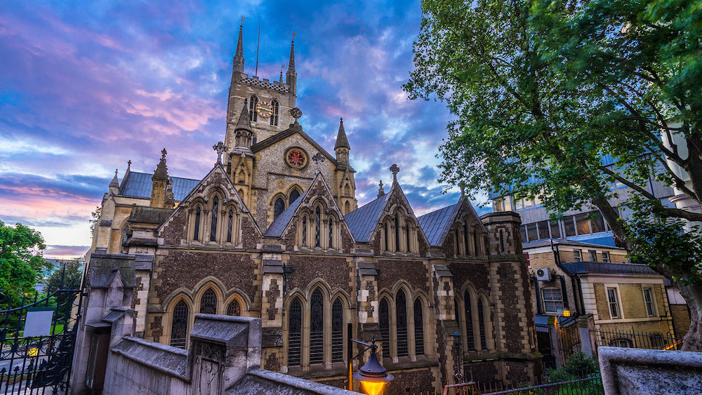 The Crown Location Tour –Southwark Cathedral