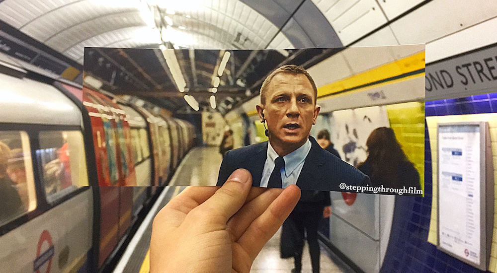 This Artist Has Cleverly Recreated Iconic Film Scenes From All Over London