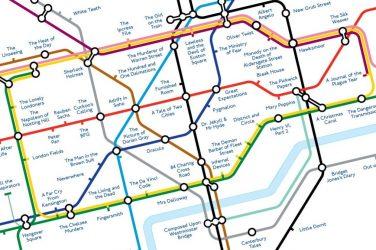 Literary tube map