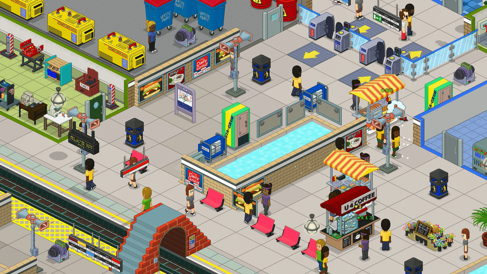 Overcrowd: This Fabulously Geeky Game Gives You Control Of The Tube