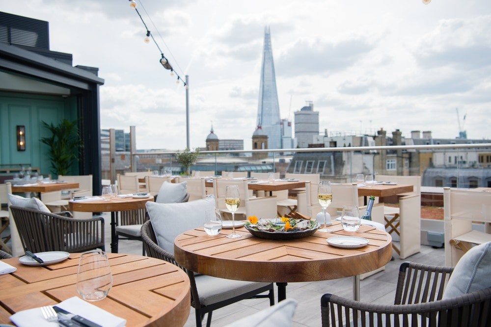 Mercer Roof Terrace Is London S Newest Panoramic Rooftop