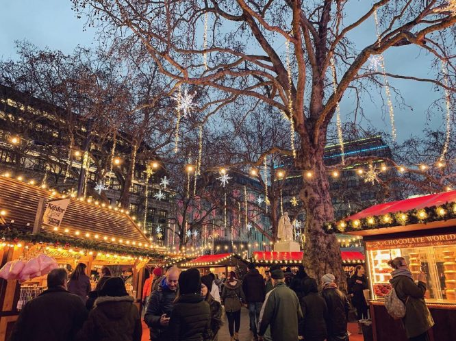 Leicester Square Christmas