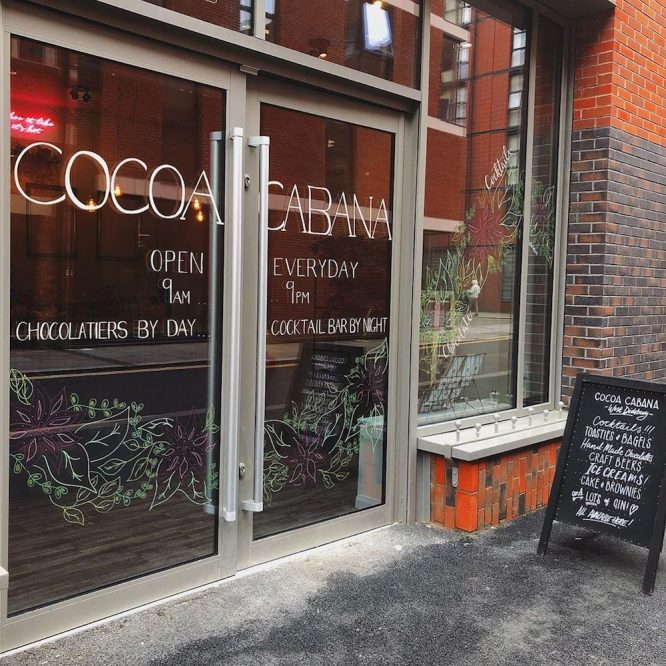 Chocolate cafe Ancoats