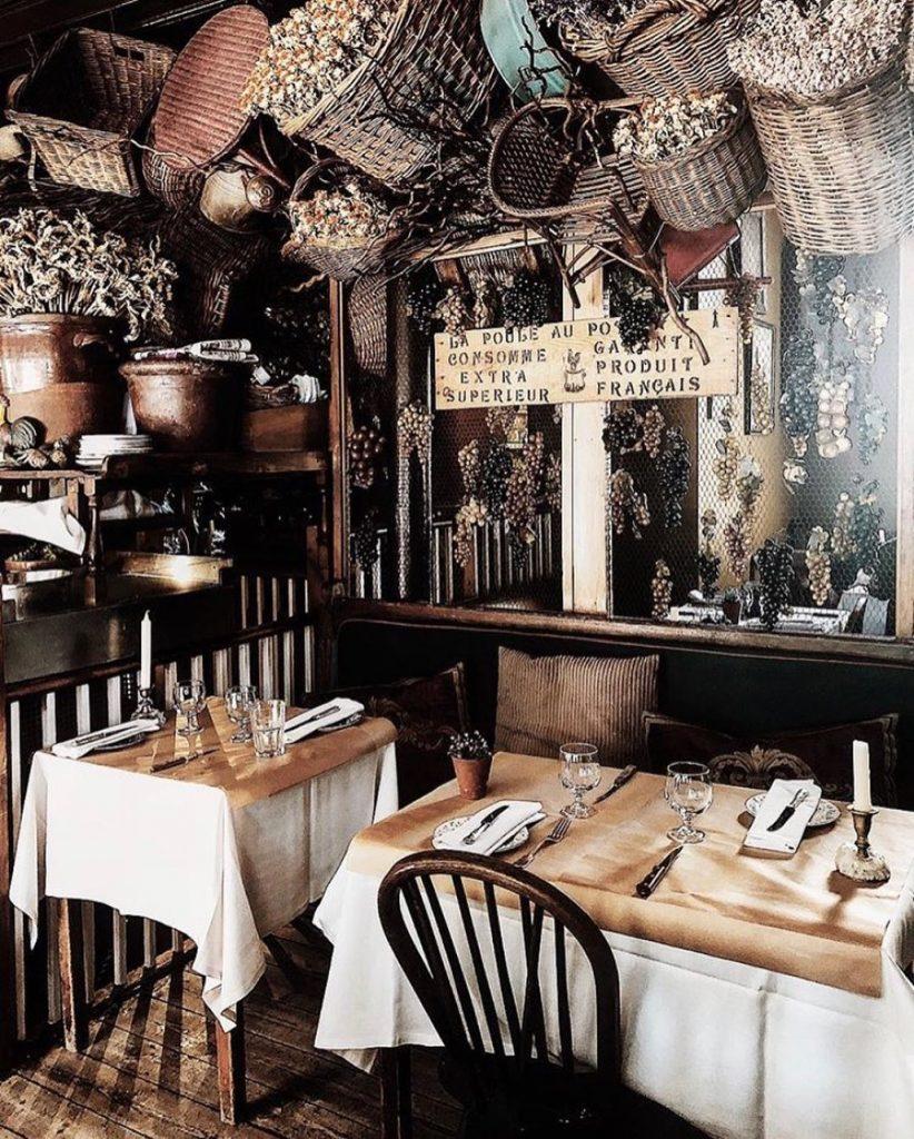 Prettiest restaurants
